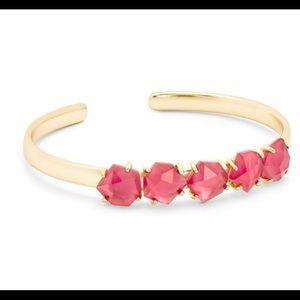 Kendra Scott 14K Gold Plated Glass Bangle Bracelet